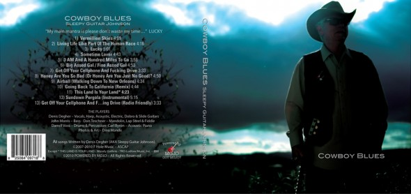 Cowboy Blues CD Cover Art